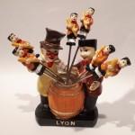 Piques Apéritif Guignol Gnafron Lyon