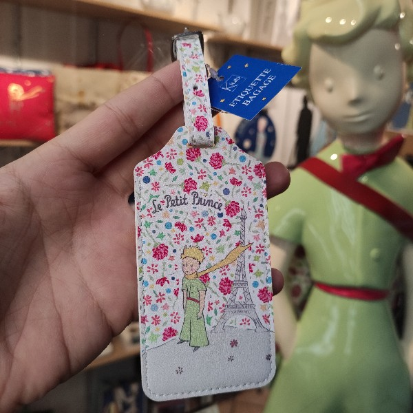 Tag Etiquette de valise bagage de voyage Le Petit Prince